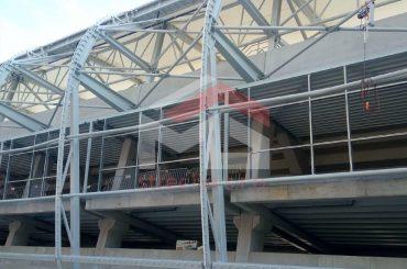 Futbalový štadión (fasáda)
